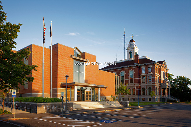 Knox County Courthouse in Rockland, Maine