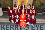The pupils of Ms Michelle O'Sullivan's confirmation class of  Holy Family school  were Confirmed by Bishop Ray Browne at St Brendan's Church, Tralee on Thursday. Pictured also were Fr Patsy Lynch and Ed O 'Brien (principal)
