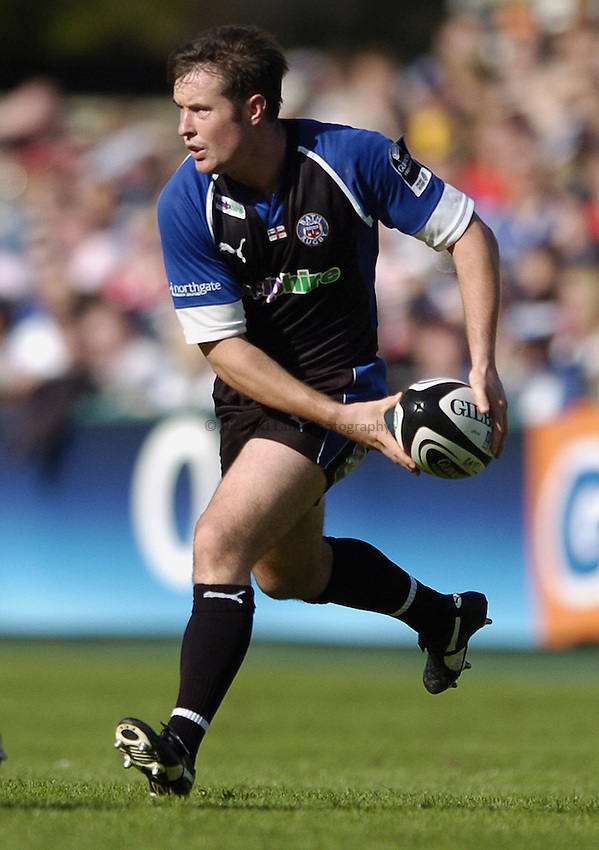 Photo: Jonathan Butler..Bath Rugby v Worcester Warriors. Guinness Premiership. 23/09/2006..Nick Walshe of Bath.