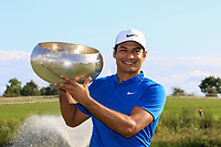 Julian Suri (USA) winner of the Made in Denmark at Himmerland Golf &amp; Spa Resort, Farso, Denmark. 27/08/2017<br /> Picture: Golffile | Thos Caffrey<br /> <br /> All photo usage must carry mandatory copyright credit     (&copy; Golffile | Thos Caffrey)
