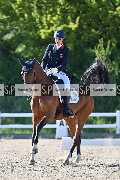 Class 11. British dressage. Brook Farm Training Centre. Essex. UK. 12/05/2019. ~ MANDATORY Credit Garry Bowden/Sportinpictures - NO UNAUTHORISED USE - 07837 394578