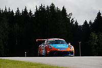 12th July 2020; Spielberg, Austria;  Porsche Mobil 1 Supercup race day;  8 Julian Hanses D, Lechner Racing Middle East held at Spielberg Austria