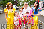 Meeting fairies at the Kilflynn Enchanted Festival on Sunday morning.<br /> L to r: Lindsay Kelly (Princess Bell), Kayley Holly, Alayia Mahoney, Theresa Grimes and Ann Tracy (Snow White).