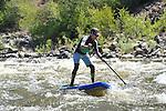 7/10/14 am Stand Up Paddle Colorado Upper Colorado River - Rancho Del Rio to State Bridge