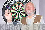 84 year old John Hill who played in the Darts final in the Corner bar Barradubh on Friday night