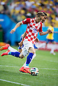 Luka Modric (CRO), Luiz Gustavo (BRA), JUNE 12, 2014 - Football / Soccer : FIFA World Cup Brazil 2014 Group A match between Brazil 3-1 Croatia at Arena de Sao Paulo in Sao Paulo, Brazil. (Photo by Maurizio Borsari/AFLO)