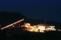 Cia. Vale do Rio Doce, Esteirade Transporte. Serra do Sossego<br />Canãa dos Carajás-Pará-Brasil<br />©Foto: Paulo Santos/ Interfoto<br />Negativo 135<br />03/2004
