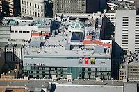 aerial photograph Bloomingdales Westfield San Francisco