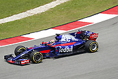 30th September 2017, Sepang, Malaysia;  FIA Formula One World Championship 2017, Grand Prix of Malaysia, #10 Pierre Gasly (FRA, Scuderia Toro Rosso)