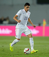 PRAGUE, Czech Republic - September 3, 2014: USA's Joe Corona during the international friendly match between the Czech Republic and the USA at Generali Arena.