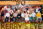 Bobby Keogh from Killarney celebrated his 30th birthday surrounded by friends and family in the Avenue Hotel, Killarney last Saturday night.