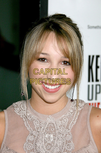 """ASHLEY EDNER.Los Angeles Premiere of """"Keeping Up With The Steins"""", West Hollywood, California, USA..May 8th, 2006.Photo: Byron Purvis/AdMedia/Capital Pictures.Ref: BP/ADM.headshot portrait.www.capitalpictures.com.sales@capitalpictures.com.© Capital Pictures."""