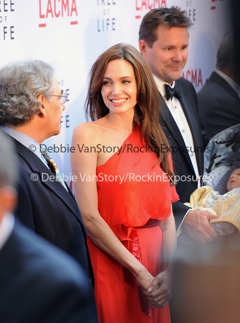 Angelina Jolie  at The Fox Searchlight L.A. Premiere of The Tree of Life held at The Bing Theatre at LACMA in Los Angeles, California on May 24,2011                                                                               © 2011 Hollywood Press Agency