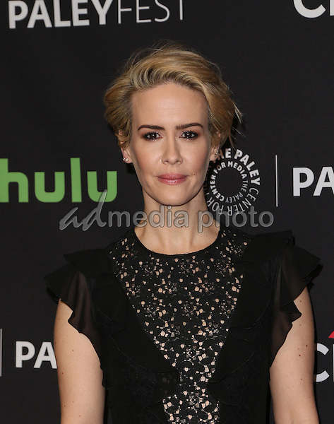 """20 March 2015 - Hollywood, Sarah Paulson. The Paley Center For Media's 33rd Annual PaleyFest Los Angeles - Closing Night Presentation: """"American Horror Story: Hotel"""" Held at The Dolby Theatre. Photo Credit: F.Sadou/AdMedia"""