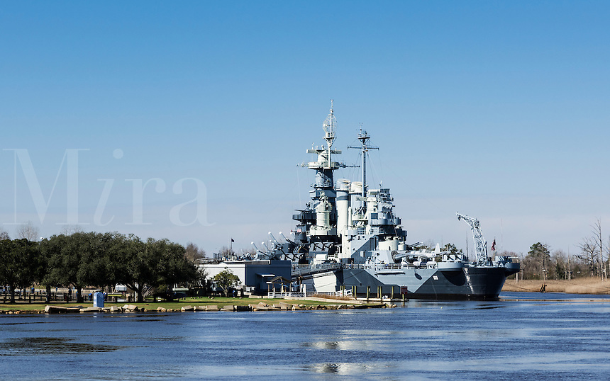 Museum battleship USS North Carolina, Wilmington, North Carolina, USA