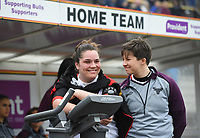 Picture by Anna Gowthorpe/SWpix.com - 15/04/2018 - Rugby League - Womens Super League - Bradford Bulls v Leeds Rhinos - Coral Windows Stadium, Bradford, England - Bradford Bulls team bench