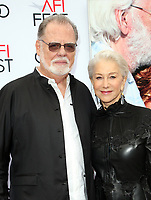 HOLLYWOOD, CA - NOVEMBER 12: Taylor Hackford, Helen Mirren, at The Leisure Seeker Special Screening During AFI Fest 2017 at the Egyptian Theatre in Hollywood, California on November 12, 2017. <br /> CAP/MPI/FS<br /> &copy;FS/MPI/Capital Pictures