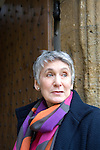 Diana Souhami at Christ Church during the Sunday Times Oxford Literary Festival, UK, 16 - 24 March 2013. <br />