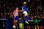 Inaki Williams Arthuer of Athletic de Bilbao heads the ballduring the La Liga 2018-19 match between Atletico de Madrid and Athletic de Bilbao at Wanda Metropolitano, on November 10 2018 in Madrid, Spain. Photo by Diego Gouto / Power Sport Images