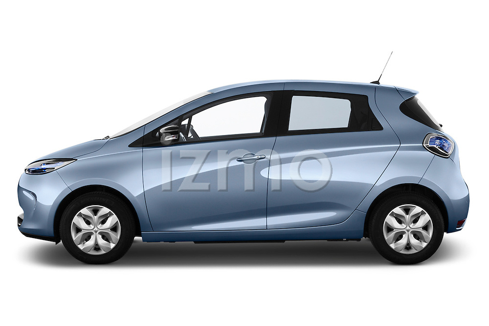 Driver side profile view of a 2013 Renault Zoe Life ZE Hatchback2013 Renault Zoe Life ZE Hatchback