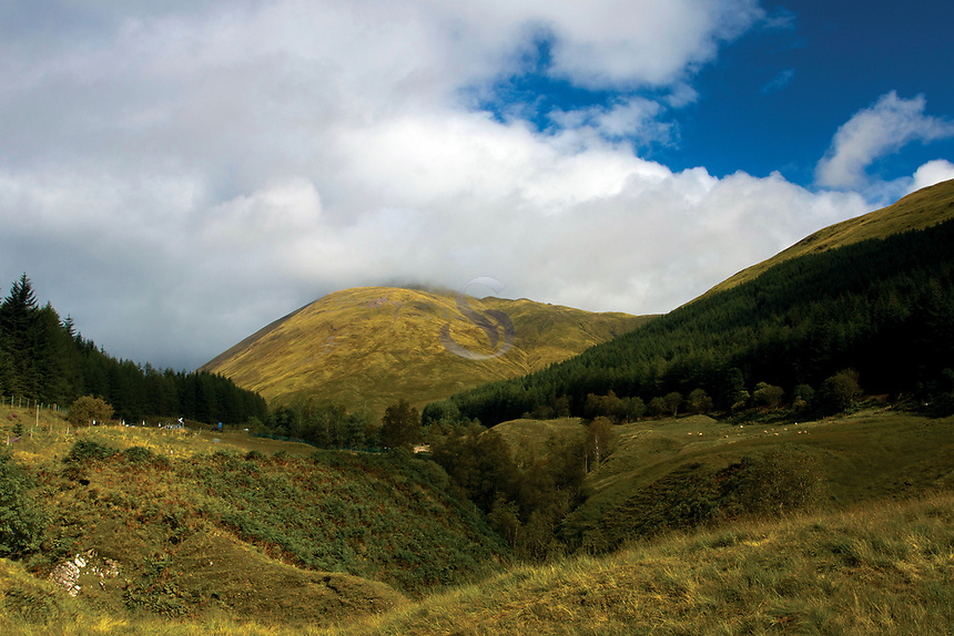 Beinn Odhar from the West Highland Way, Tyndrum, Loch Lomond and the Trossachs National Park