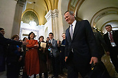 Chief Justice John Roberts departs the United States Capitol after the conclusion of day six in the impeachment trial of United States President Donald J. Trump in Washington D.C., U.S., on Monday, January 27, 2020.<br />  <br /> Credit: Stefani Reynolds / CNP