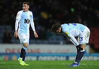 Blackburn Rovers' Bradley Dack rues a missed opportunity<br /> <br /> Photographer Kevin Barnes/CameraSport<br /> <br /> The EFL Sky Bet Championship - Blackburn Rovers v Wigan Athletic - Tuesday 12th March 2019 - Ewood Park - Blackburn<br /> <br /> World Copyright © 2019 CameraSport. All rights reserved. 43 Linden Ave. Countesthorpe. Leicester. England. LE8 5PG - Tel: +44 (0) 116 277 4147 - admin@camerasport.com - www.camerasport.com
