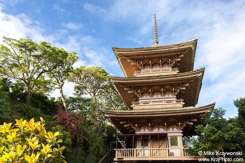 Sanju Pagoda, Kyoto Gardens of Honolulu Memorial Park