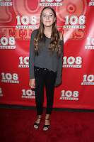 "Annabelle Negron<br /> ""108 Stitches"" World Premiere, Harmony Gold, Los Angeles, CA 09-10-14<br /> David Edwards/DailyCeleb.com 818-249-4998"