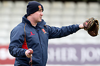 Head Coach Anthony McGrath looks on during Essex CCC Pre-Season Practice at The Cloudfm County Ground on 5th March 2018
