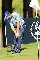 Padraig Harrington (IRL) chips onto the 3rd green during Saturday's Round 3 of the 2018 Turkish Airlines Open hosted by Regnum Carya Golf &amp; Spa Resort, Antalya, Turkey. 3rd November 2018.<br /> Picture: Eoin Clarke | Golffile<br /> <br /> <br /> All photos usage must carry mandatory copyright credit (&copy; Golffile | Eoin Clarke)