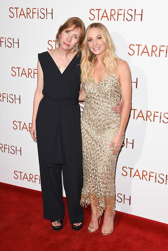 "Nicola Ray and Joanne Froggatt<br /> at the ""Starfish"" UK premiere, Curzon Mayfair, London.<br /> <br /> <br /> ©Ash Knotek  D3190  27/10/2016"