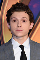 "Tom Holland<br /> arriving for the ""Avengers: Infinity War"" fan event at the London Television Studios, London<br /> <br /> ©Ash Knotek  D3393  08/04/2018"