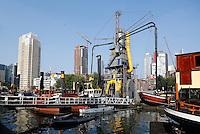 Havenmuseum van Rotterdam. Graanzuiger