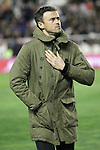 FC Barcelona's coach Luis Enrique Martinez during La Liga match. March 3,2016. (ALTERPHOTOS/Acero)