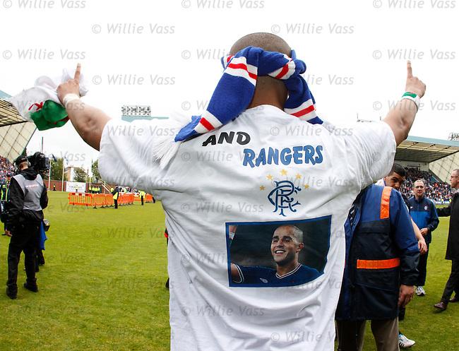 "Madjid Bougherra's T-Shirt - ""I love Algeria and Rangers"""