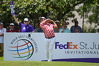 Mikumu Horikawa (JPN) watches his tee shot on 13 during round 2 of the WGC FedEx St. Jude Invitational, TPC Southwind, Memphis, Tennessee, USA. 7/26/2019.<br /> Picture Ken Murray / Golffile.ie<br /> <br /> All photo usage must carry mandatory copyright credit (© Golffile | Ken Murray)