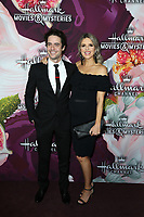 LOS ANGELES - JAN 13:  Ali Fedotowsky, Kevin Manno at the Hallmark Channel and Hallmark Movies and Mysteries Winter 2018 TCA Event at the Tournament House on January 13, 2018 in Pasadena, CA