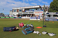 The warm-ups are delayed as the start of the match is put back due to traffic problems on the A12 during Essex CCC vs Glamorgan CCC, Specsavers County Championship Division 2 Cricket at the Essex County Ground on 12th September 2016