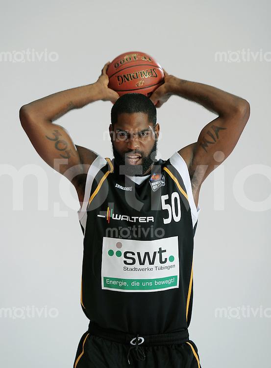 1. Basketball Bundesliga 2011/2012  21.08.2010 Walter Tigers Tuebingen   Kenny Williams (Tigers)