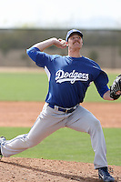 Matt Sartor, Los Angeles Dodgers 2010 minor league spring training..Photo by:  Bill Mitchell/Four Seam Images.