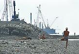 Baustellen in Sotschi für die olympischen Winterspiele 2014 / Construction sites for the Olympic Games 2014 in Sochi