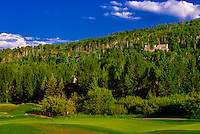 Snowmass Club golf course, Snowmass Village (Aspen), Colorado USA.