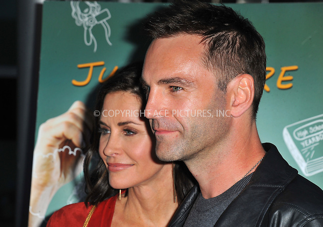 WWW.ACEPIXS.COM<br /> <br /> April 20 2015, LA<br /> <br /> Johnny McDaid and Courteney Cox arriving at the Los Angeles special screening of 'Just Before I Go' at the ArcLight Hollywood on April 20, 2015 in Hollywood, California.<br /> <br /> By Line: Peter West/ACE Pictures<br /> <br /> <br /> ACE Pictures, Inc.<br /> tel: 646 769 0430<br /> Email: info@acepixs.com<br /> www.acepixs.com