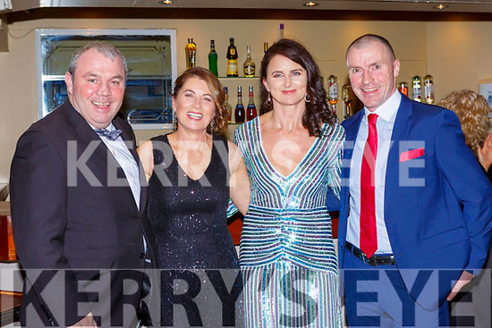 Kerry Footballer won the GAA PLayer of the Year at the Kerry Sports awards show in the Gleneagle Hotel on Friday night picking up his award were John Allen Noreen Riordan, Lydia  and Sean O'Shea Snr