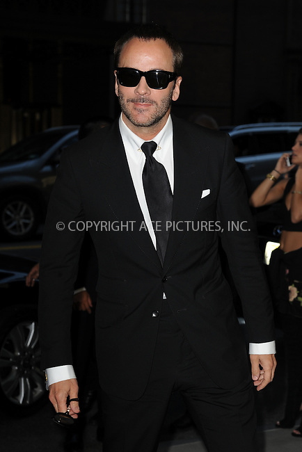 www.acepixs.com<br /> September 8, 2016  New York City<br /> <br /> Tom Ford attending the The Daily Front Row's 4th Annual Fashion Media Awards at Park Hyatt New York on September 8, 2016 in New York City. <br /> <br /> <br /> Credit: Kristin Callahan/ACE Pictures<br /> <br /> <br /> Tel: 646 769 0430<br /> Email: info@acepixs.com