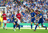 Arsenal's Danny Welbeck and Chelsea's Cesar Azpilicueta during the The FA Community Shield Final match between Arsenal and Chelsea at Wembley Stadium, London, England on 6 August 2017. Photo by Andrew Aleksiejczuk / PRiME Media Images.