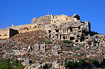 Rock tombs at the Lycian city of Tlos, Turkey