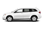 Car Driver side profile view of a 2015 Dodge Journey American Value Package 5 Door SUV Side View