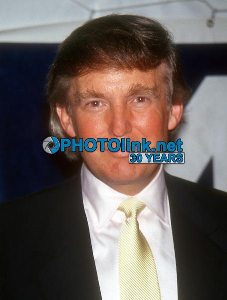 Donald Trump, 1993, Photo By John Barrett/PHOTOlink